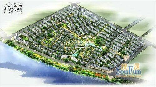 近万平米中庭园林,是一家人放松身心的乐园;38%高绿化,24.