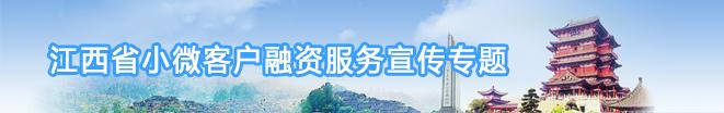 江西省小微客户融资服务宣传专题