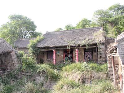 农村隐居风景图片
